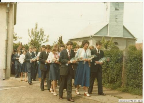 Nyírgelse 70-80-as években